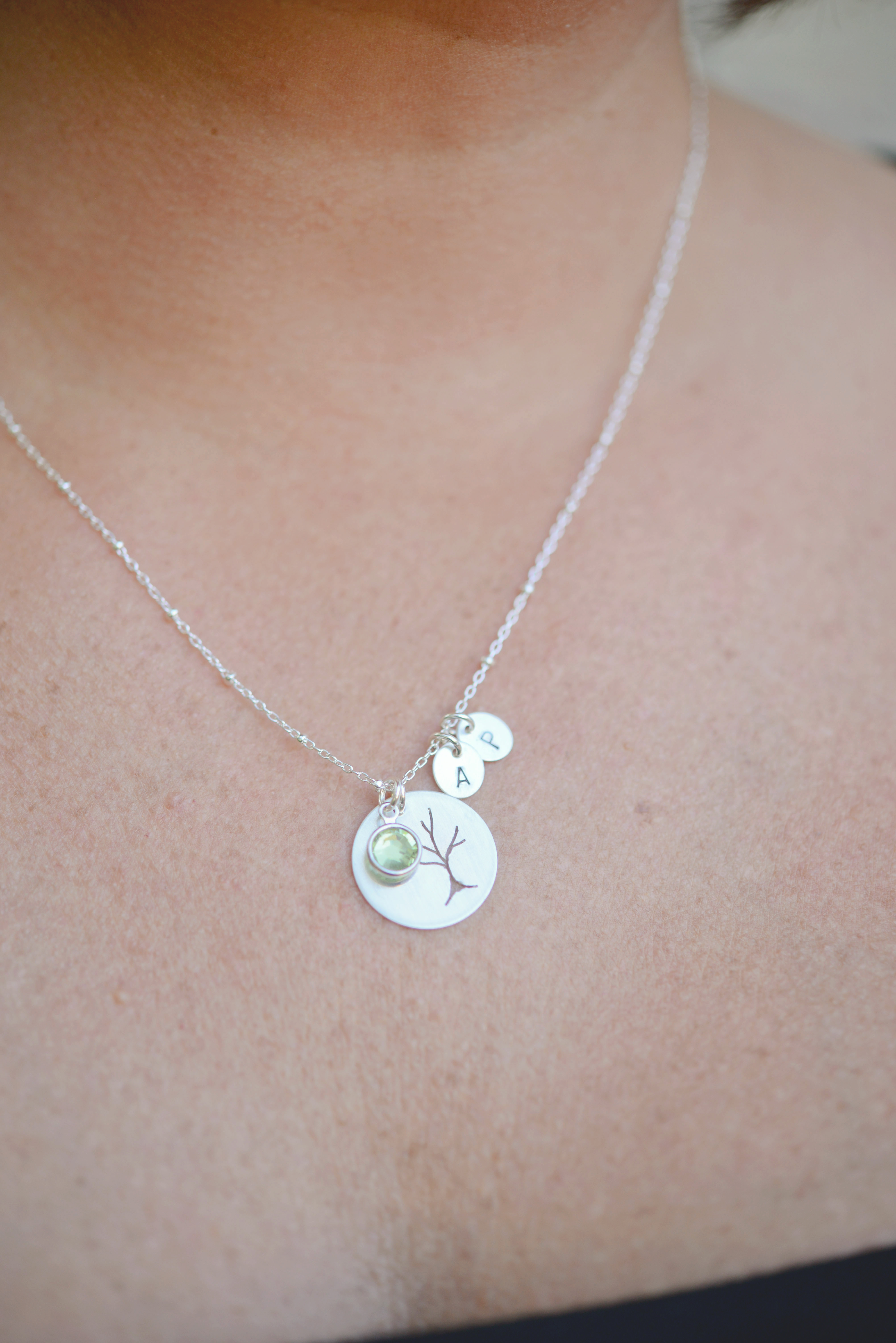 Sterling Family Tree Necklace Shop Erin Pelicano Jewelry