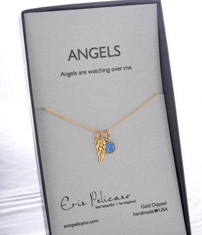 gold angel boxed