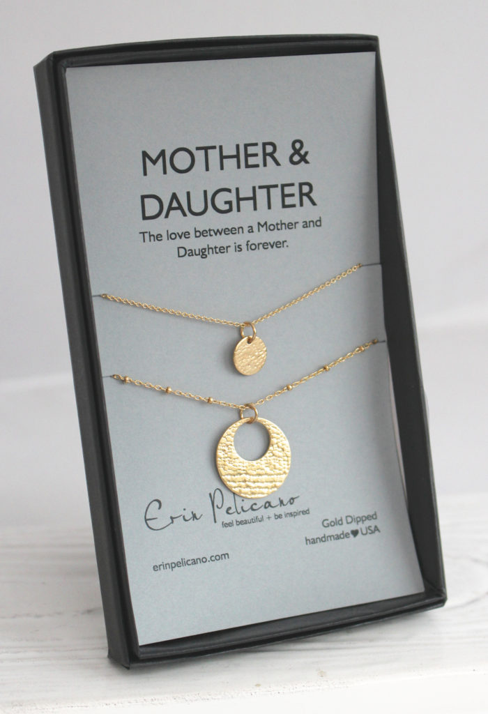 Mother Daughter Necklace Set, mom daughter jewelry