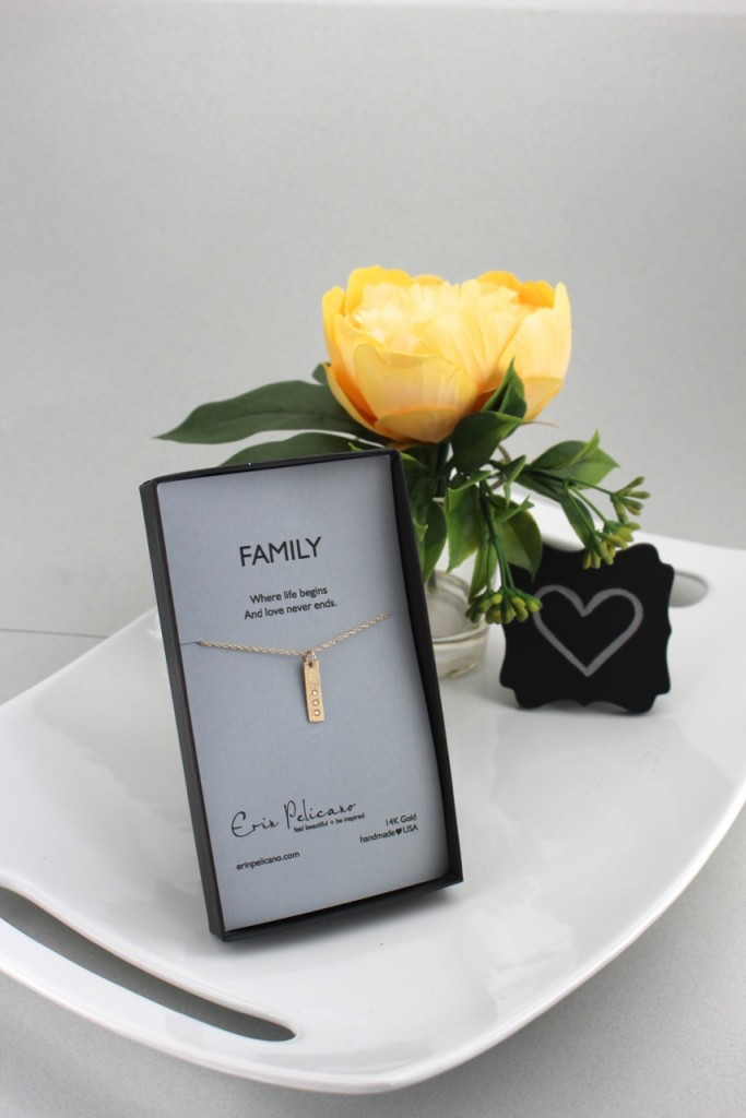 Gold Family Necklace Set Wedding Gift Guide 2016