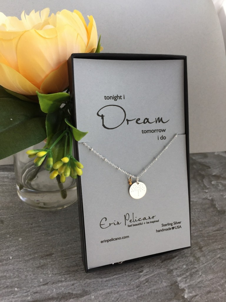 Sterling Silver Dream Necklace Wedding Gift Guide 2016