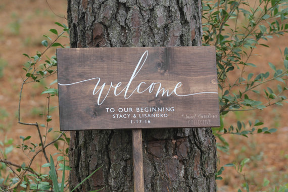 Etsy Wedding Ideas For A Rustic Fall Wedding