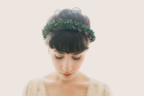 Wedding Crowns and Flower Crowns for Brides