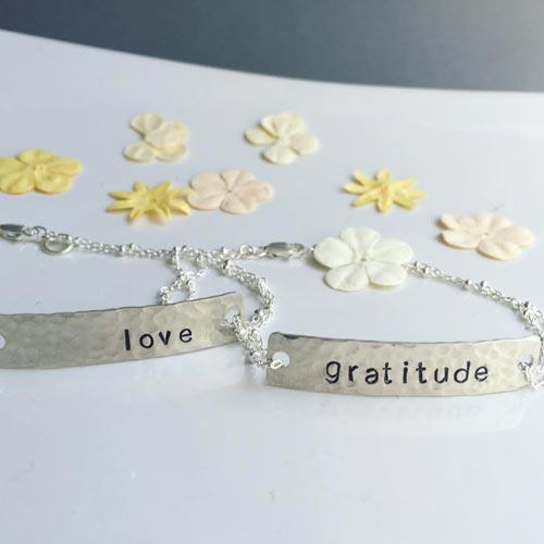 Custom Bar Bracelet for Teachers