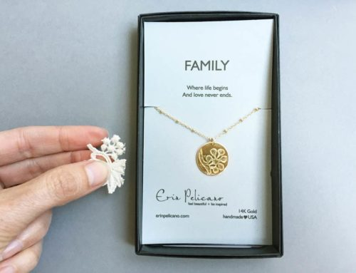 Create Your Heirloom Treasure with Custom Embossed Gold and Silver Necklaces