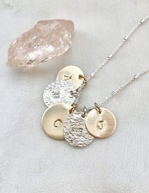 mom necklace, initial necklace