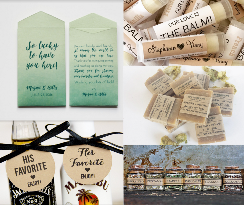 Unique Wedding Favor Ideas Guest Will Use