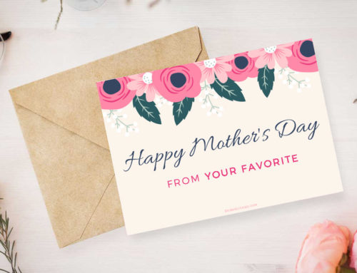 Downloadable Mother's Day Cards