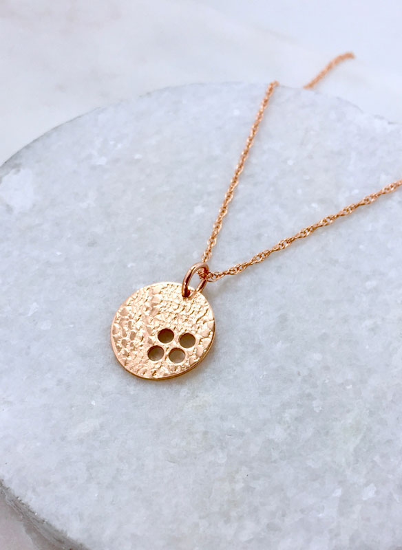 Rose Gold 40th Birthday Necklace Fine Jewelry