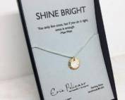 Shine Bright Solar Eclipse necklace made in USA