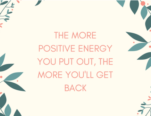 Find Positive Energy, Even on a Hard Day
