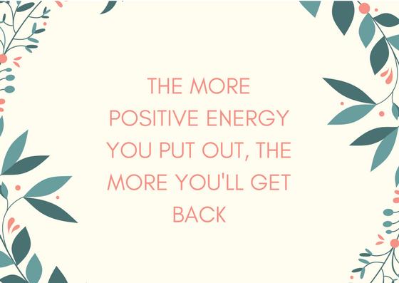 Positive Energy Quotes | Positive Energy Quotes Erin Pelicano