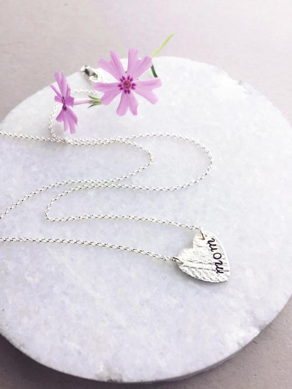 New Mom Necklace, Grandmother Jewelry
