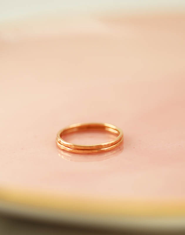 Gold stacking rings, family jewelry, mom rings, mom jewelry