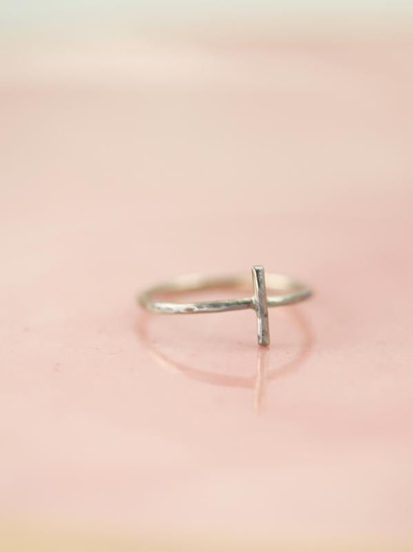 cross ring, gold cross, gold faith jewelry, gold faith ring