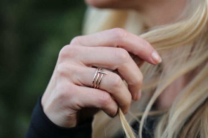 cross rings, cross jewelry, gold cross jewelry
