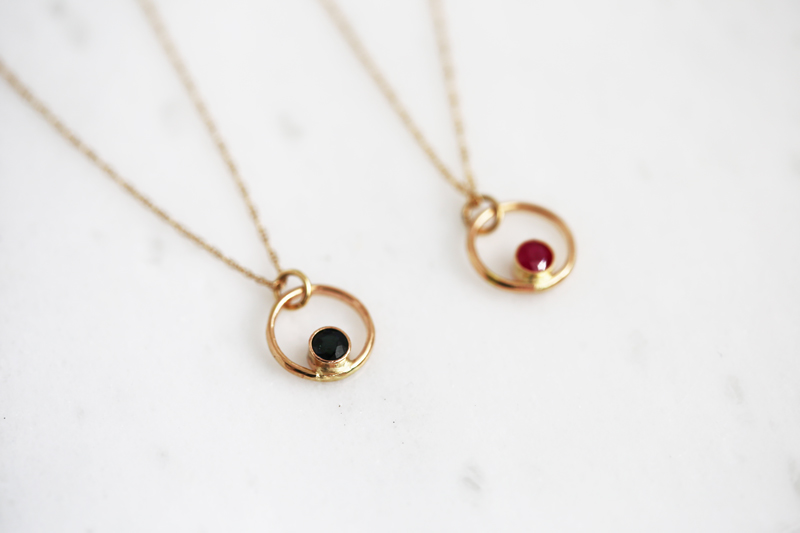 Gold inspirational jewelry