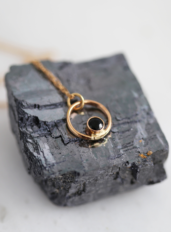 Sapphire and gold jewelry for her, bridesmaid gifts