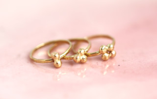 gold stacking ring, mom rings, family jewelry