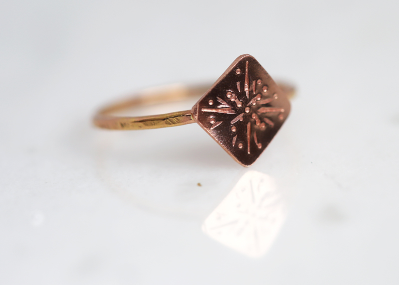 Gold Strength jewelry, strength ring, inspirational rings