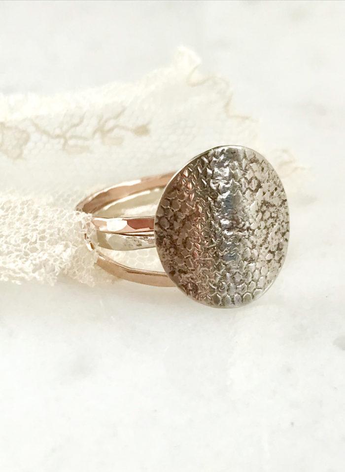 wedding veil ring, bridal jewelry