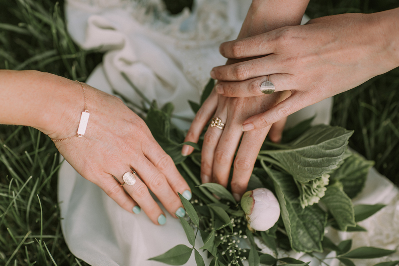 Heirloom Gold Wedding Jewelry