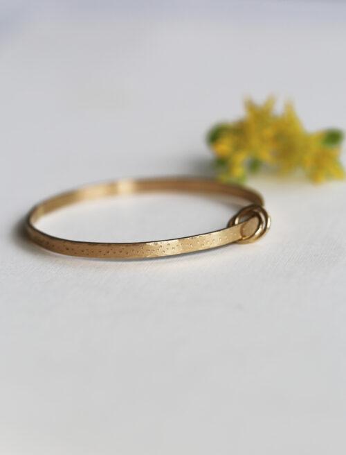 gold baby bangle bracelet