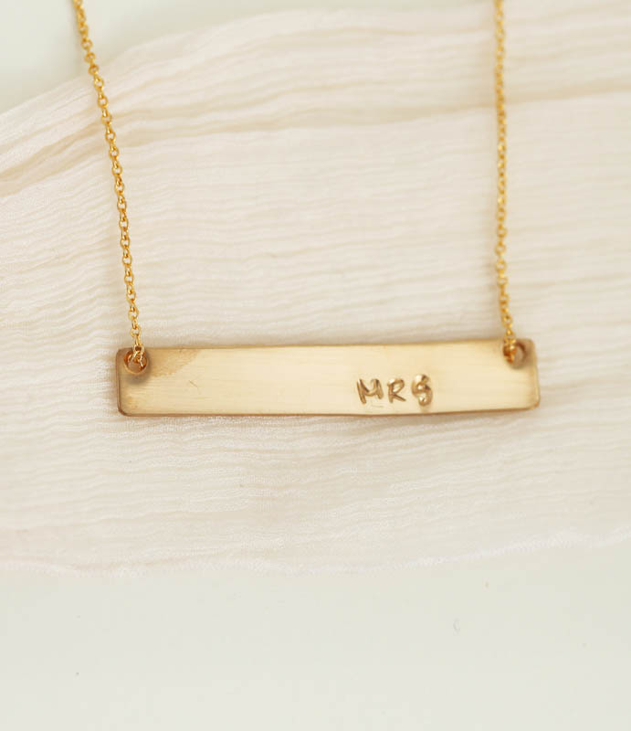 Mrs Bar Necklace