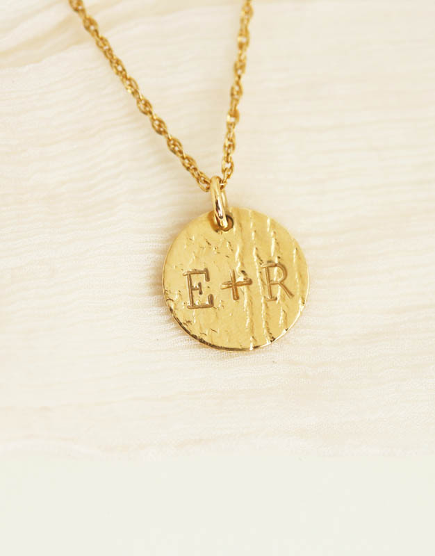 4d802d22b Gold Personalized Pendant Necklace | Artisan Fine Jewelry Erin Pelicano