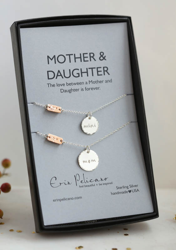 Mommy and Me necklace
