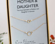 Mother Daughter Pearl Necklace