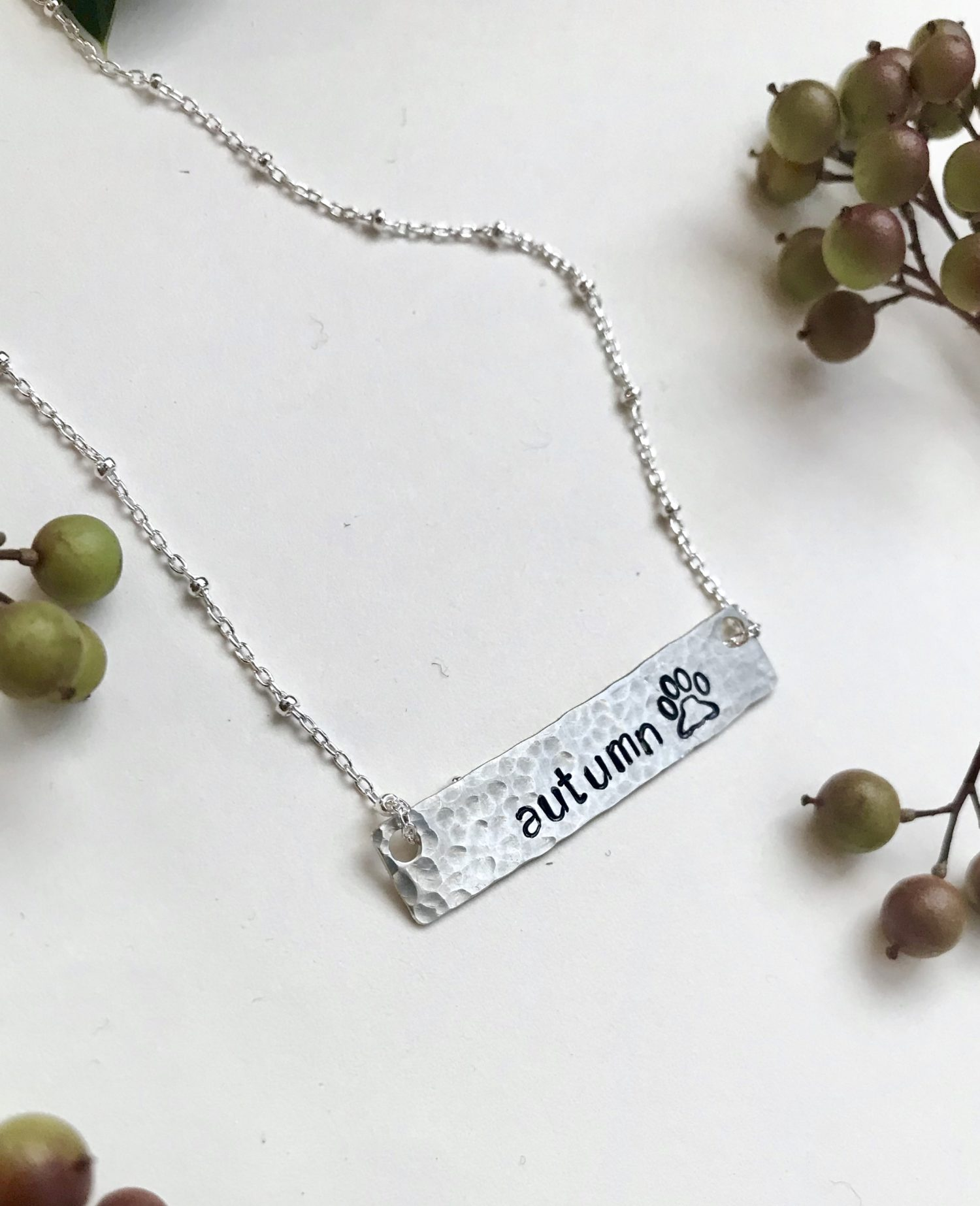 pet memorial jewelry, personalized pet necklace