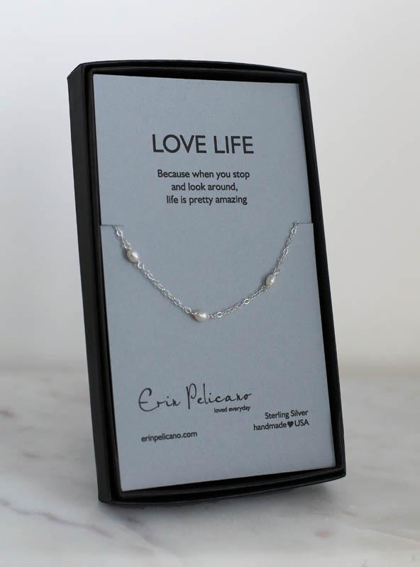 pearl custom bracelet