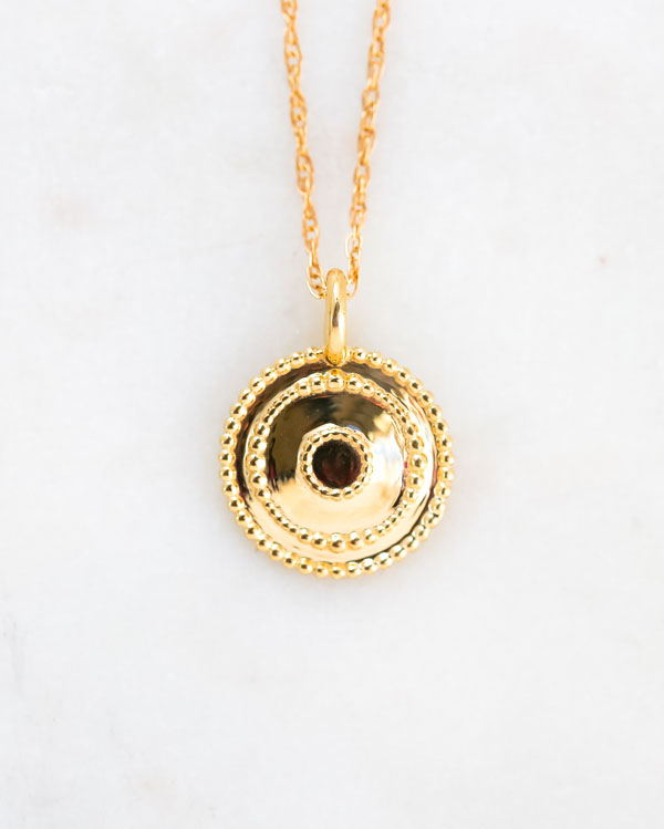 14k gold infinity necklace, blessed necklace