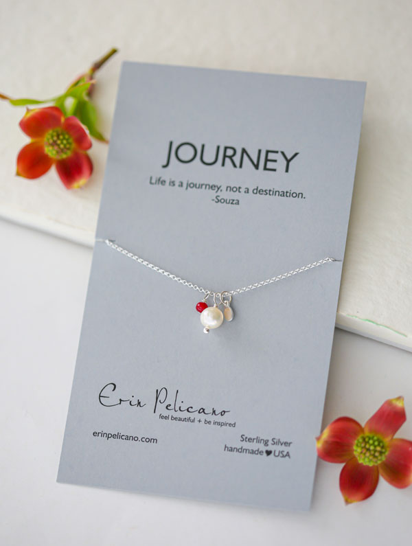 graduation gift, teacher gift, pearl necklace